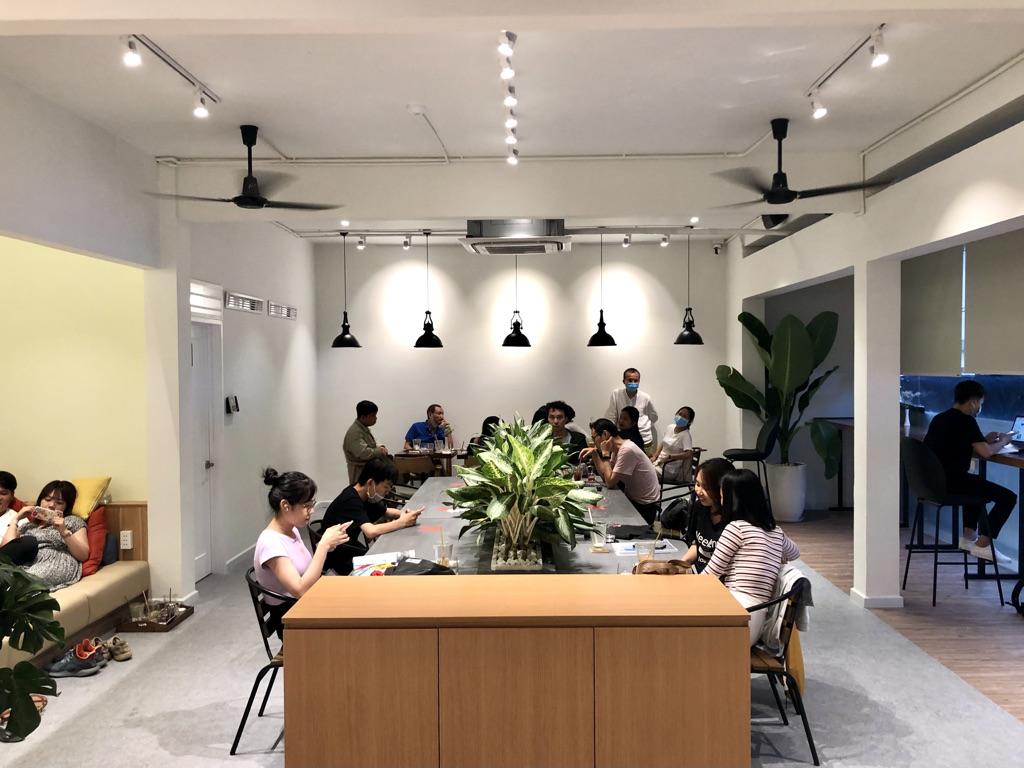 文具カフェ Bungu Cafe by PLUS 2階